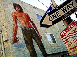 The iconic Morrison Mural in Venice, CA