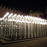 As if the LACMA light installation wasn't surreal enough . . .